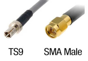 sma and ts9 antenna connectors